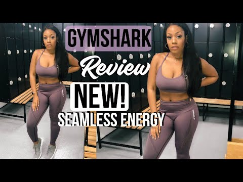 GYMSHARK SEAMLESS ENERGY REVIEW GYM SQUAT TEST AND TRY ON ON A THICK FIT CHICK