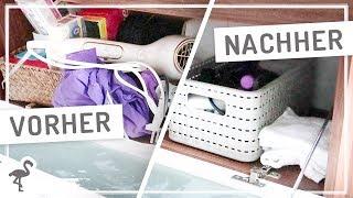 Badschrank & Drogerie Produkte AUSMISTEN #nurwasichmag