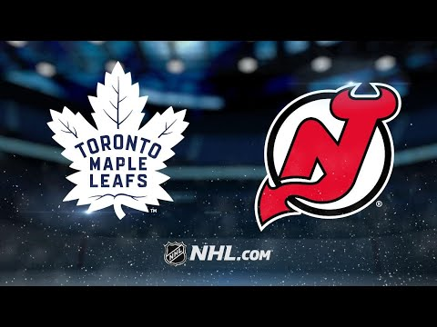 Devils clinch playoff berth with win against Leafs