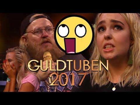 GULDTUBEN 2017 ANDEN roaster YouTubere (Astrid Olsen, Fie Laursen, Alexander Husum og flere)