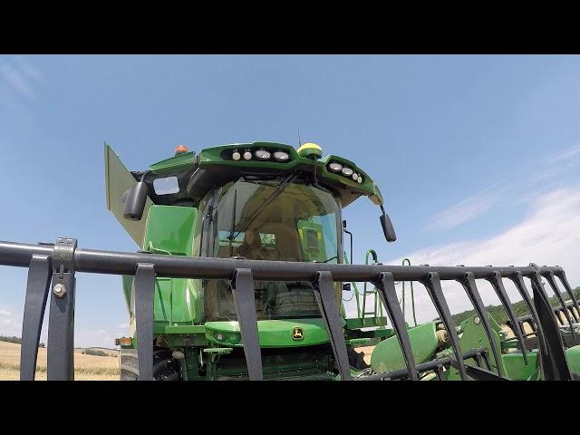 John Deere Serie S700 la cosechadora automatizada 4 – ProDrive y 40 km/h
