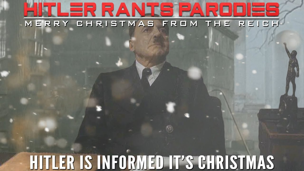 Hitler is informed it's Christmas