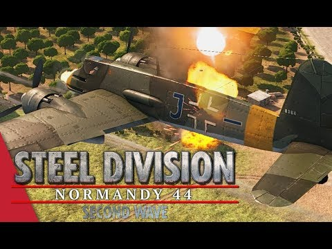 2nd APT LB 1! Steel Division: Normandy 44 - CHARGE[Nihon] vs Gal_Oneill (Sainte-Mère-Église, 1v1)