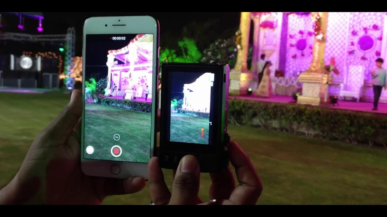 canon powershot g9 x mark ii vs iphone