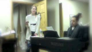 Shevaun Kastl Sings for film