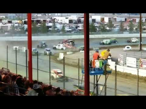 Dwarfs A-main 6/23/18 El Paso county raceway
