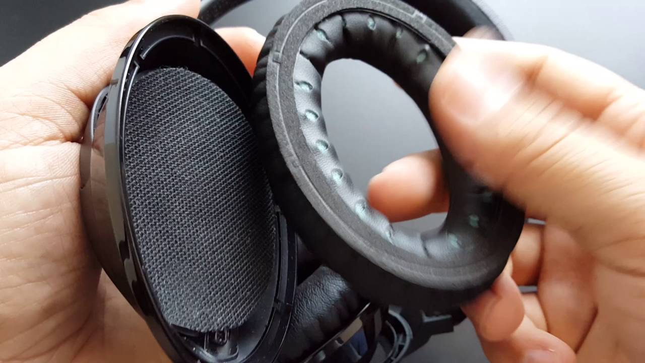How To Replace Cushions Earpads Sponges Ear Pads To A Pair Of Headphones Bose Ae2w