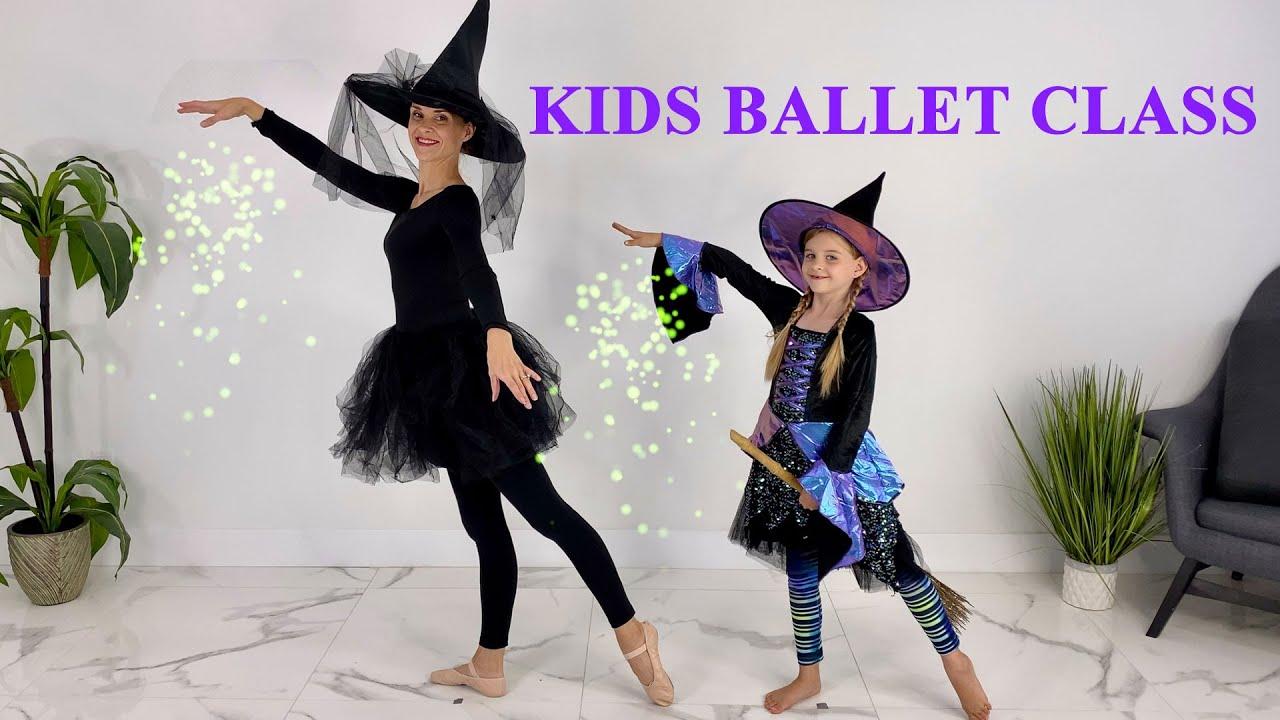 Kids Ballet Halloween Special (Ballet Class For Kids Age 3-9)