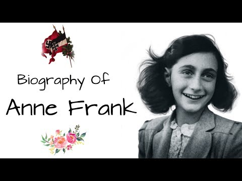 Anne Frank biography ऐनी फ्रैंक की जीवनी The Diary of a Young Girl, Victim of Jewish Holocaust