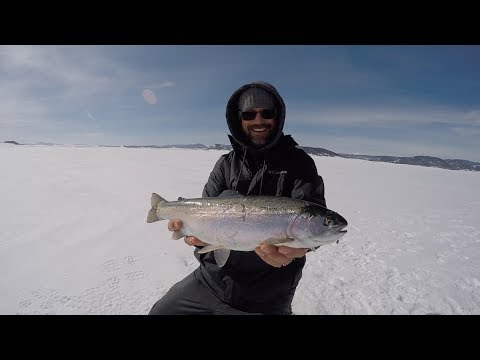 Colorado Wickedfisha- S3E4:  Chunky Antero Rainbows On Ice