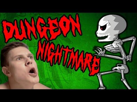 видео: СКЕЛЕТ ДОМОГАЕТСЯ - dungeon nightmares - #2