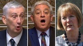 Watch Again: MPs choose Sir Lindsay Hoyle as House Speaker