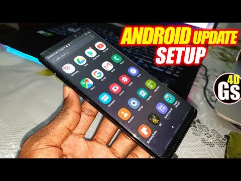 Install Android 9 Rom Update Deluxe V20 On Galaxy Note8/S8/S8+