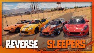 Forza Horizon 3 | The Reverse Sleepers Challenge! (Fails & Funny Moments)