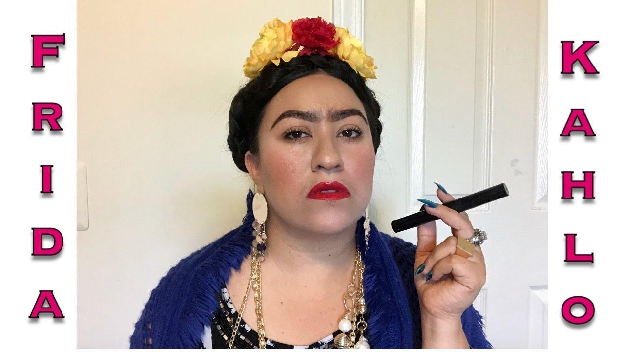Maquillaje Inspirado En Frida Kahlo Frases Celebres Luu Mora