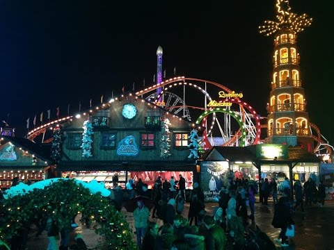 Return Trip To Hyde Park Winter Wonderland Vlog November 2016