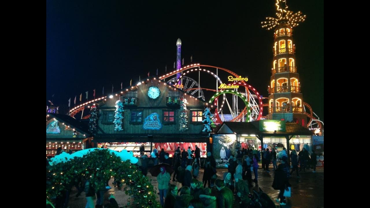 Return Trip To Hyde Park Winter Wonderland Vlog November - Winter wonderland london map 2016