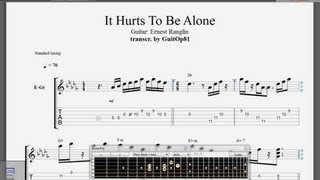 "Ernest Ranglin - Comp Guitar Transcription - ""It Hurts To Be Alone"""