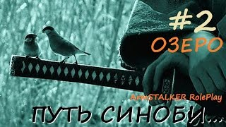 18+ ArmStalker Online: ПУТЬ СИНОБИ... Кордон 2 Серия Озеро