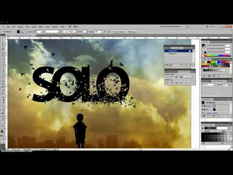 How To Get Started with Adobe Illustrator  Tutorial  Compound Paths & Clipping Mask  || tooofast.xyz thumbnail