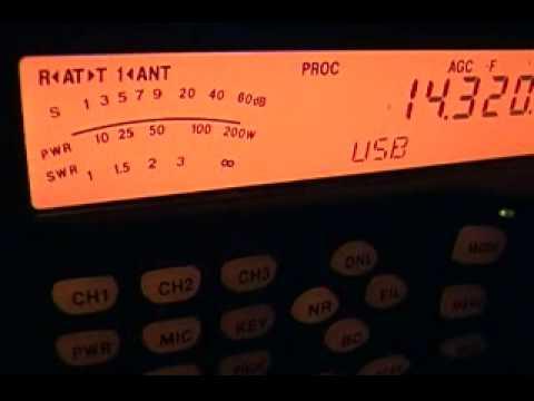 T32AZ, Eastern Kiribati, on 14 MHz SSB