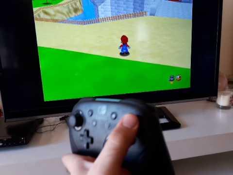 Switch Pro-Controller on RetroPie (Nintendo 64)