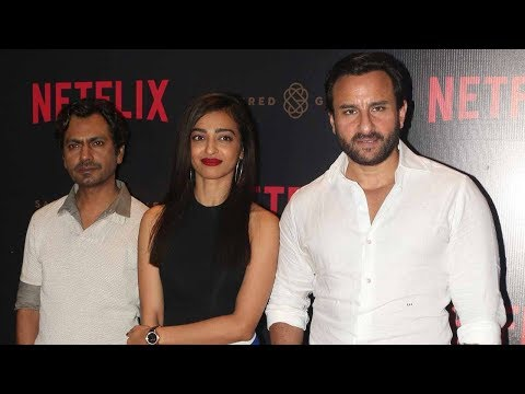 Sacred Games Netflix Web Series Launch Full Video HD | Saif Ali Khan, Nawazuddin, Radhika Apte