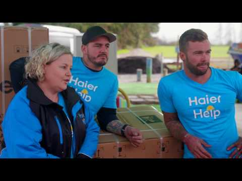 Haier Help | Getting Stuck In