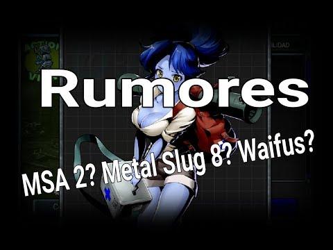 Rumores: Próximo MSA, Metal Slug 8, etc.