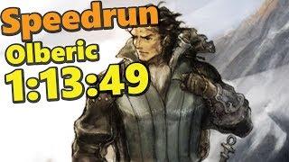 SPEEDRUN : Octopath Olberic Single Story