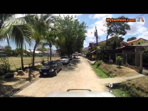 Driving around Playas del Coco, Costa Rica 2016