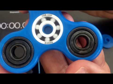 Testing VXB 608CE Full ceramic Bearings in a Fidget Hand Spinner