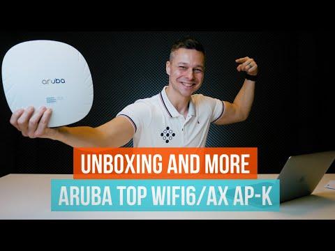 Unboxing And More: Aruba Csúcskategóriás WiFi6/ax Access Pointok