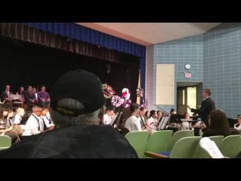 Hammonton Middle School Veterans Day