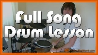 ★ Here Comes The Sun (The Beatles) ★ Drum Lesson PREVIEW   How To Play Song (Ringo Starr)