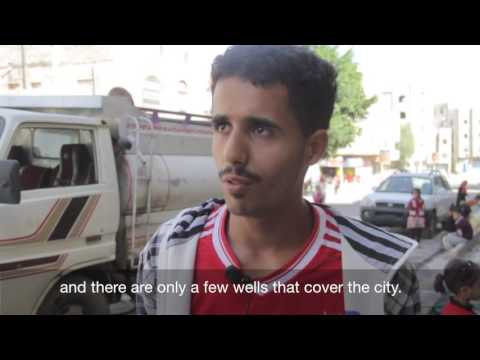 In Yemen, access to water can be a daily struggle