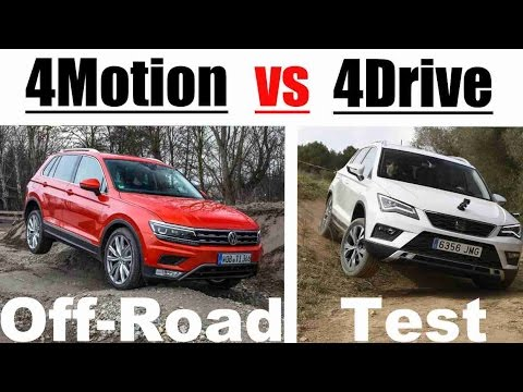 2016 vw tiguan vs seat ateca 4motion vs 4drive off road test youtube. Black Bedroom Furniture Sets. Home Design Ideas
