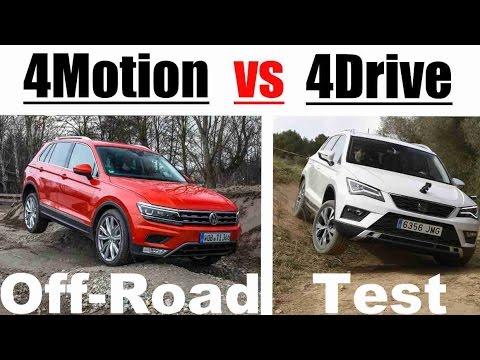 2019 vw tiguan vs seat ateca 4motion vs 4drive off road test youtube. Black Bedroom Furniture Sets. Home Design Ideas