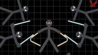 Stickman Warriors Gameplay Part 4 - Path of Ninja 2