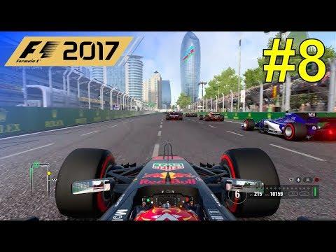 F1 2017 - Let's Make Verstappen World Champion #8 - 100% Race Baku