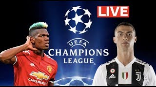 Manchester United vs Juventus LIVE REACTION | UEFA CHAMPIONS LEAGUE (Pogba vs Ronaldo)