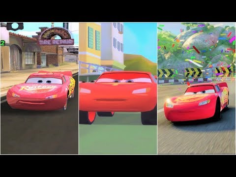 Lightning McQueen in Cars 1, Cars 2, Cars 3 - 동영상