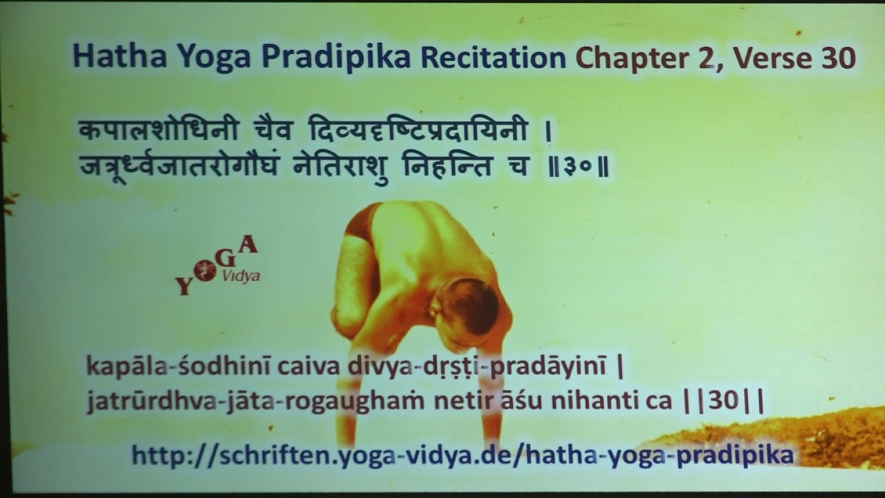 HYP II 30 Hatha Yoga Pradipika Recitation Chapter 2 Verse 30