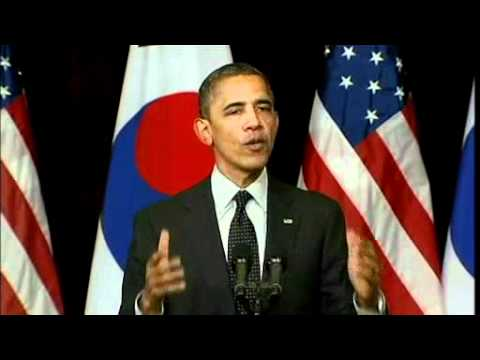 Obama warns N Korea against nuclear ambitions