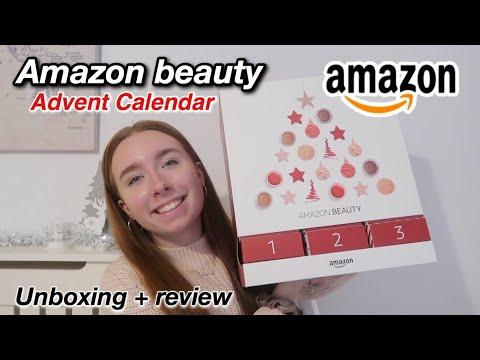 Amazon Beauty ADVENT CALENDAR UNBOXING !! + Review