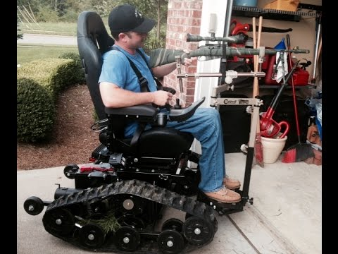 Hunting In A Tracfab Tracked All Terrain Wheelchair Family Owned Business 717 862 8722
