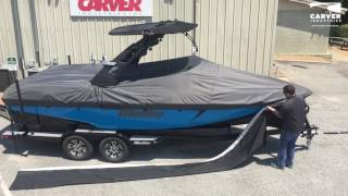 Carver Industries Boat Skirt Installation