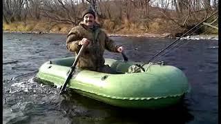 Сплав по реке Плотникова.  Камчатка 2009г.