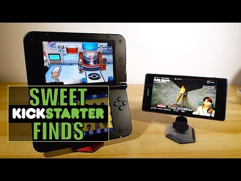 """Hexama"" Smartphone / Game Stand - Sweet Kickstarter Finds - Blunty  - wP4sk1-e84Y -"