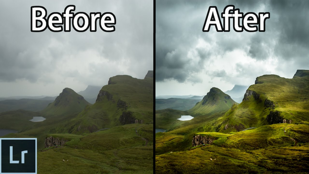 Lightroom 6 cc Landscape Photography Editing Tutorial - From The RAW File To The Finished Photo ...